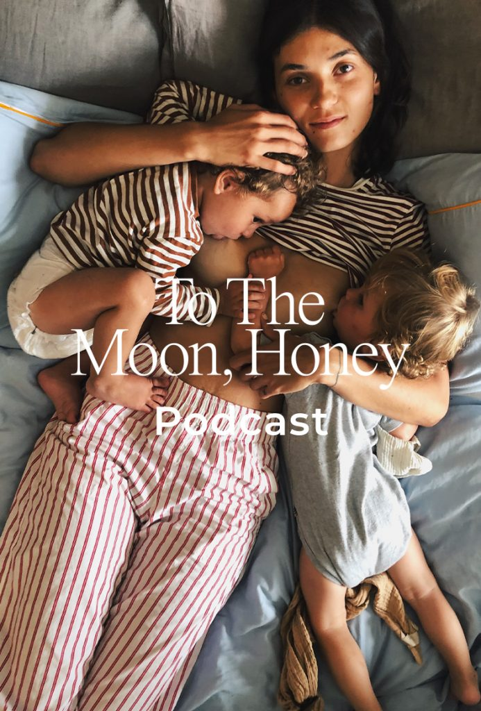 To_the_moon_podcast_Panelsnak_om_at_være_på_barsel_Anastasia_