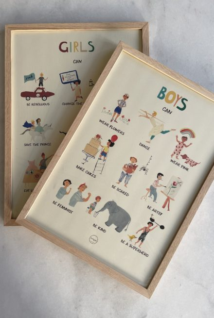 Plakat boys & girls