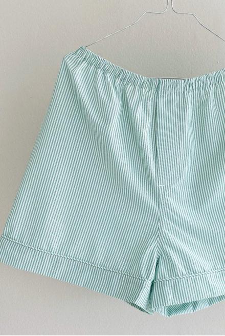 On Cloud Nine Shorts grøn og hvid