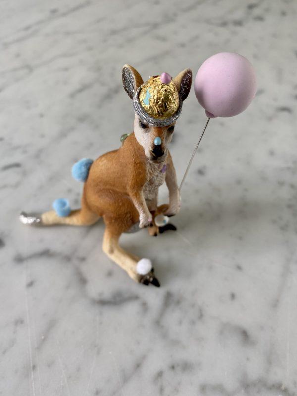 Fødselsdags lys Parades kænguru