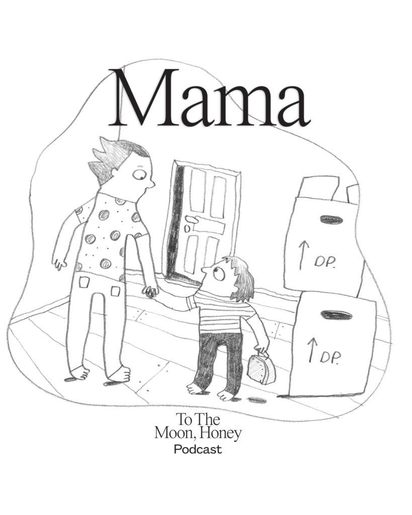 TO_the_Moon_honey_podcast_mama_line_jensen_illustrator_